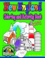 New England Coloring   Activity Book PDF