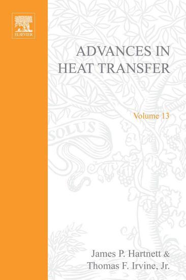 Advances in Heat Transfer PDF