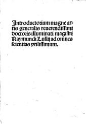 Introductorium magne artis generalis