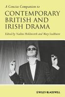 A Concise Companion to Contemporary British and Irish Drama PDF