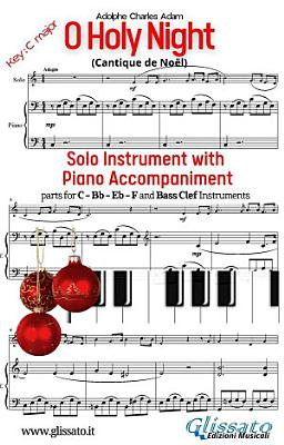 O Holy Night   Solo with Piano acc   key C