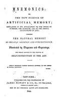 Mnemonics  Or  The New Science of Artificial Memory PDF