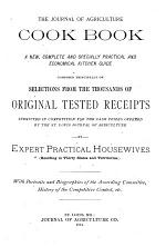 The Journal of Agriculture Cook Book