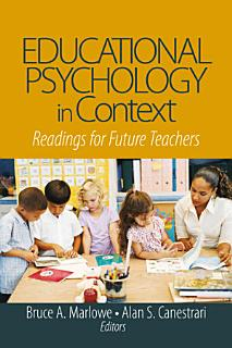 Educational Psychology in Context Book