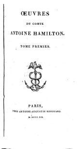 Œuvres du comte Antoine Hamilton