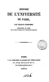 Histoire de l'Université de Paris