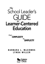 The School Leader's Guide to Learner-Centered Education