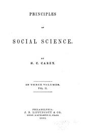 Principles of Social Science: Volume 2