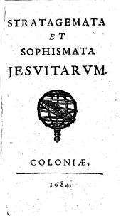 Stratagemata et sophismata jesuitarum