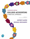 College Accounting Chapters 1 12 with Study Guide and Working Papers