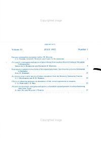Boletin de Ciencias Marinas PDF