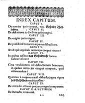Ahasveri Fritschi Tractatio De Jure Congrui, (Vom Gespild-Recht.) In partibus Thuringiae per consuetudinem cumprimis recepto: In gratiam eorum, qui in foro Schwartzburgico caussas agunt, conscripta