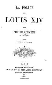 La police sous Louis XIV