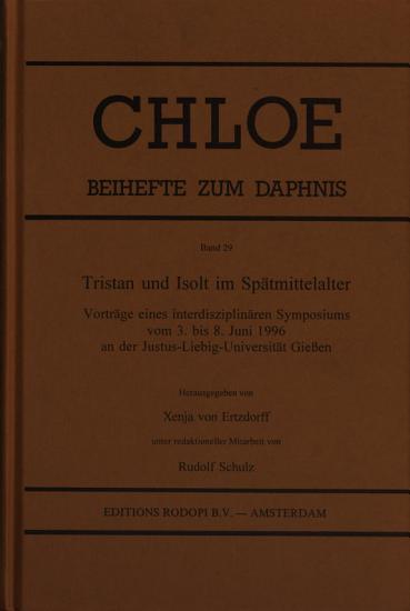 Tristan und Isolt im Sp  tmittelalter PDF