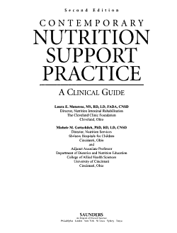 Contemporary Nutrition Support Practice PDF