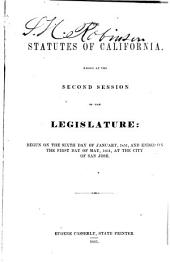 The Statutes of California