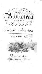 Biblioteca teatrale italiana e straniera. Volume 1.-: Volume 10, Volume 10