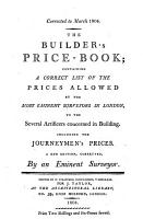 The builder s price book PDF