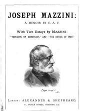 Joseph Mazzini: A Memoir