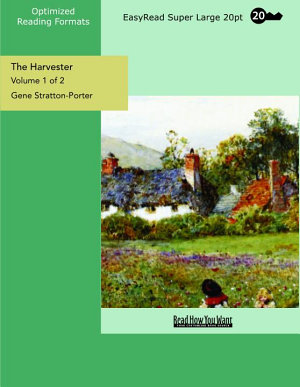 The Harvester  Volume 1 of 2    EasyRead Super Large 20pt Edition  PDF