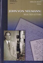 John Von Neumann: Selected Letters
