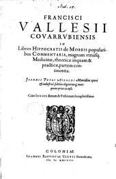 In Libros Hippocratis de morbis popularibus Commentaria