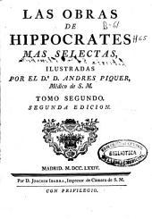 Las obras de Hippocrates mas selectas: Volume 2