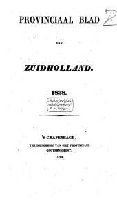 Provinciaal blad van Zuid-Holland: Volume 11