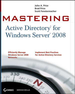 Mastering Active Directory for Windows Server 2008 PDF