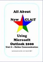 All about New CLAiT using Microsoft Outlook 2000 PDF