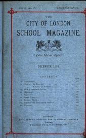 The City of London school magazine