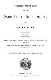 Annual Report of the State Horticultural Society of the State of Missouri