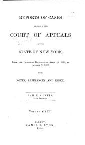 Reports of Cases Decided in the Court of Appeals of the State of New York: Volume 121