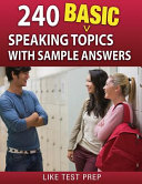 240 Basic Speaking Topics With Sample Answers PDF