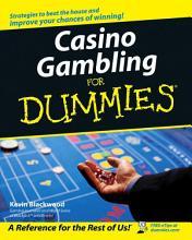 Casino Gambling For Dummies PDF