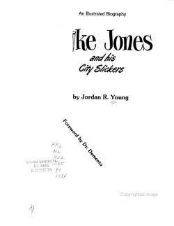 Spike Jones and His City Slickers PDF