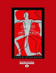 Training of the American Actor  Large Print 16pt  PDF