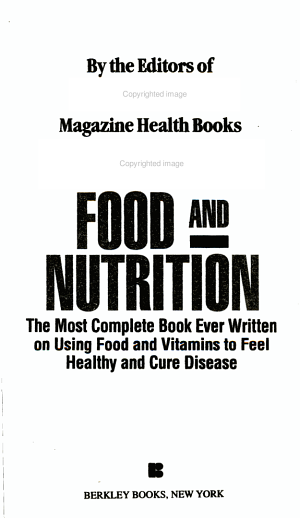Prevention s Food and Nutrition Guide