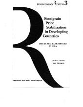 Foodgrain price stabilization in developing countries: Issues and experiences in Asia
