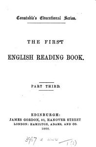 the first english reading book Book