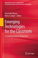 Emerging Technologies for the Classroom PDF