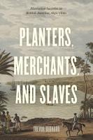Planters  Merchants  and Slaves PDF