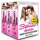Boxed Set : The Billionaire's Desires Volume 10-12 Deutsche Version: Hundert Facetten des Mr. Diamonds