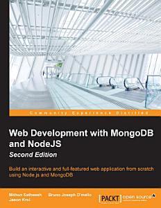 Web Development with MongoDB and NodeJS PDF