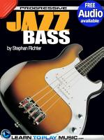 Jazz Bass Guitar Lessons for Beginners PDF