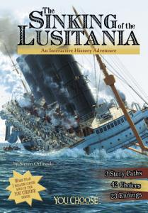 You Choose  The Sinking of the Lusitania Book