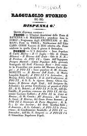Ragguaglio storico di quanto è avvenuto in Roma e in tutte le provincie dello Stato pontificio in seguito del perdono accordato dalla santità di N. S. papa Pio 9. come dal suo editto del 16 luglio 1846: Volume 6
