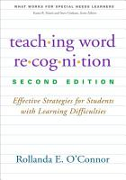 Teaching Word Recognition  Second Edition PDF