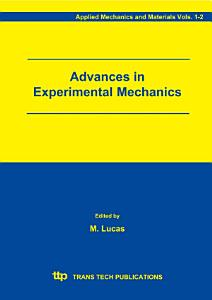 Advances in Experimental Mechanics