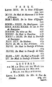 Lettres: Volume7